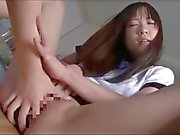 Asian Schoolgirl Makes Teacher Lesbian Pet Part 2