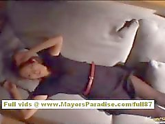 Nao Yoshizaki Chinese girl enjoys fucking in all positions