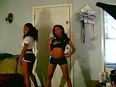 Ebony Teens in training