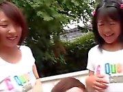 3 Asian Teen Play Games.