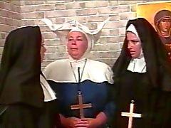 Kinky lesbian nuns BDSM style