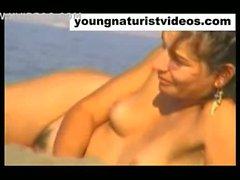 nudist girls on the beach