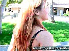 Keisha Teen public nudity and a totally topless