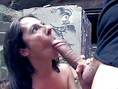 ChicasLoca - Big boobed Noemi Jolie starring in outdoor Spanish porn