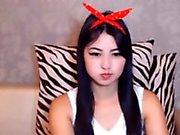 Hot Asian Webcam Girl Mini Skirt 2