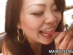 Prissy Japanese Teen Mio Yamauchi Penetrated