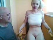 Blonde young amateur teen sexdate fucking