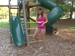 Sexy Sadie Plays on the Playground