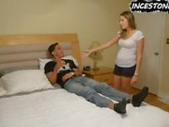 Nikki Brooks blackmails her Brother to impregnate her
