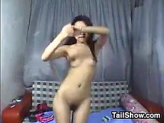 Cute Chinese Teen Girl Gets Naked