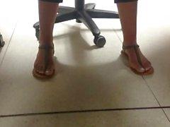 New Friend's Candid Beautiful Feet 7