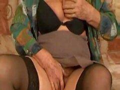 Old Granny Norma Still Fucking