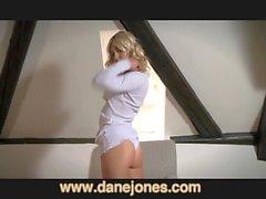 DaneJones Incredible nubile blonde orgasms with toy