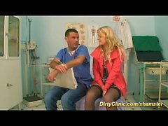 clinic sex with cute teen doll