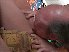 Horny grandpa cock up for sweet brunette pussy Nicole Ray