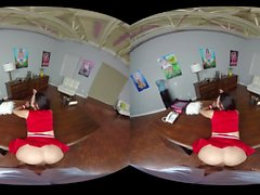Cheerleader VR Porn -- Megan Sage -- naughtyamericavr