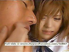 Azusa Itagaki innocent teen schoolgirl in trouble