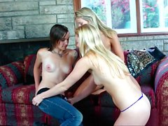 Teen lesbians with passion