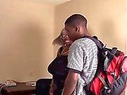 Black BBW Granda Takes Black Dick