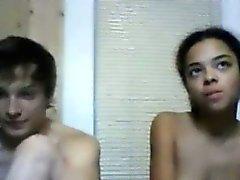 Amateur Interracial Couple 2hour Cam Show
