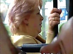 Teen girl public sex in the bus