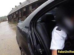 British teen smashed analy by police officer