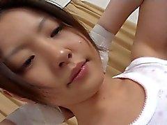Gorgeous asian teen gets fucked hard