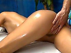 Tasting a tight bald vagina