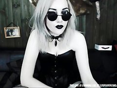 Scary Goth Babe Into The Freakiest Things...