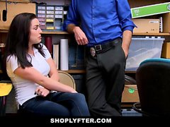 ShopLyfter - Hippy Teen Fucks Fraud Detective