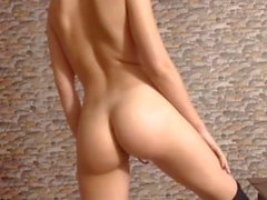 Brunette babe tight little ass big boobs tits perfect curves
