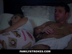 FamilyStrokes Scared Stepdaughter Gets Fucked