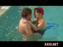 Swimming coach fuck teen in pool 04