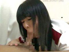 Jap teen wanking POV cock