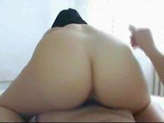 Hot Fat Chubby Teen GF with nice ass riding cock-2
