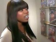 Amazing Busty Ebony Gloryhole Oral