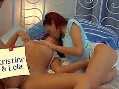 Kristine, Lola - Raunchy Threesome