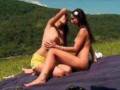 Gorgeous Lesbian Girls Eaten Pussy