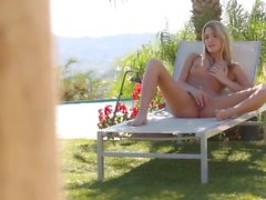 kenna james masturbate outside
