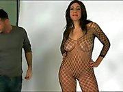 Foxy Big Nipple Brunette In A Photoshoot!!!!!!!