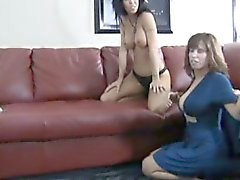 Horny daughter office fuck