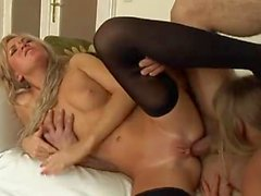Sumptuous threesome with great anal sex