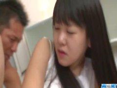 Koyuki Ono takes on two massive dicks in threesome