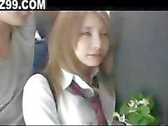 schoolgirl fucked by bus geek