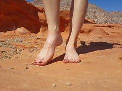 lisas feet Pretty Feet Barefoot Outdoors