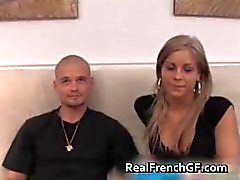 Sexy blonde french gf anal stuffed video part2