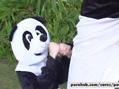 Kimmy Granger Fucks Keiran Lee Panda Style