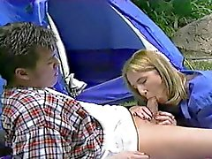 Blair Goes Camping And Can't Believe She Gets Anal
