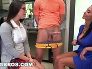 BANGBROS - Step Mom MILF Ava Addams Threesome With Teen Daisy Summers
