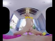 Cute teen Kenzie Reeves fucks you VR